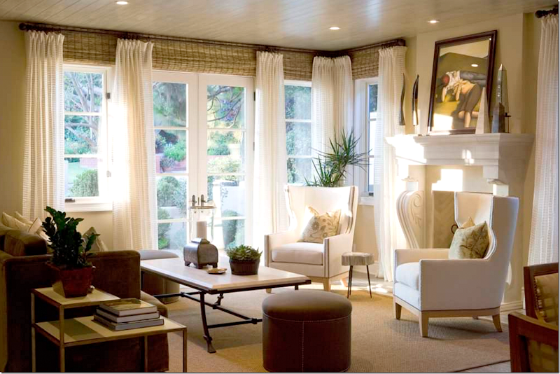 Curtains Ideas curtains for short wide windows : COTE DE TEXAS: WINDOW TREATMENTS: DO'S AND DON'T