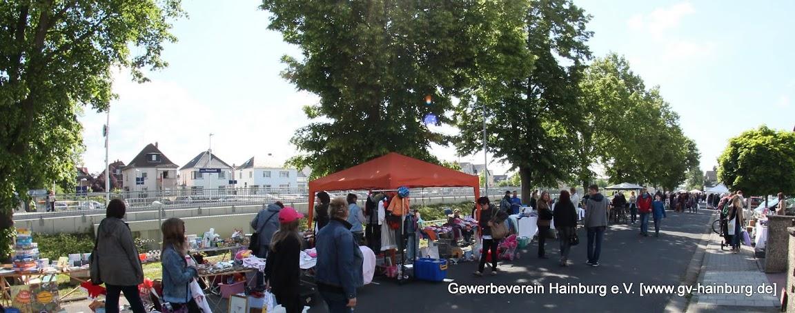 Flohmarkt im Rahmen des Hainburger Marktes
