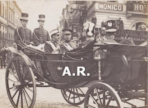 Fotografía antigua Alfonso XIII viaje a Bruselas[4]