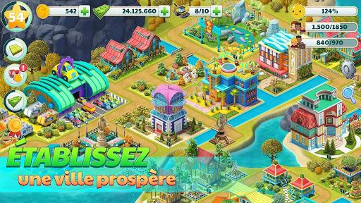 Ville Ville - Village de Sim jeu Paradise  captures d'écran 2