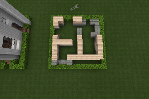 Minecraft City Survival House 10x10