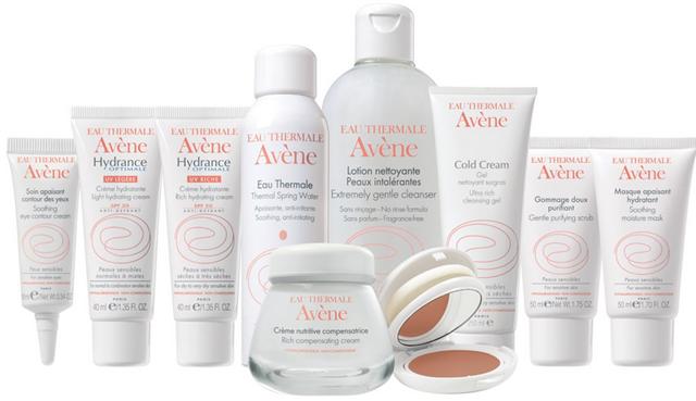 produtos da Avene - linha completa