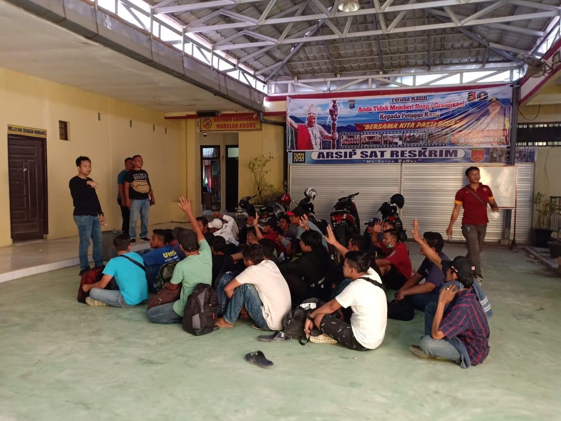 Sebanyak 39 orang TKI dari Malaysia Diamankan Satres Narkoba Tanjung Balai
