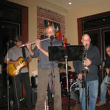 "The featured group for the Jan. 9 ""Blue Monday"" at the Five Sisters Blues Café was the Karma Quartet. As usual, a packed house turned out to enjoy the music, friendship, and great food."