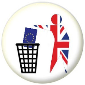 UK dropping EU in bin to keep tidy