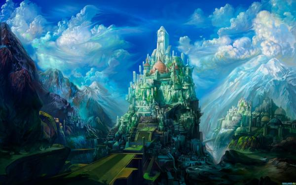 Mystical Place Of Fantasy, Magical Landscapes 4