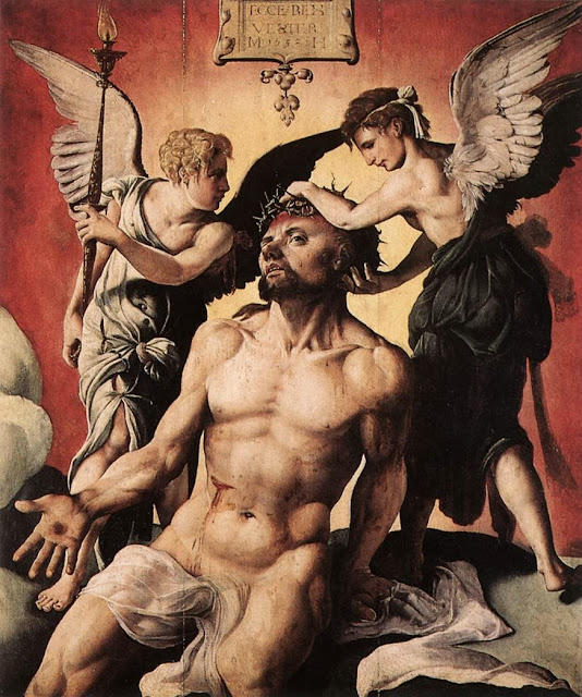 Maarten van Heemskerck - Man of Sorrows