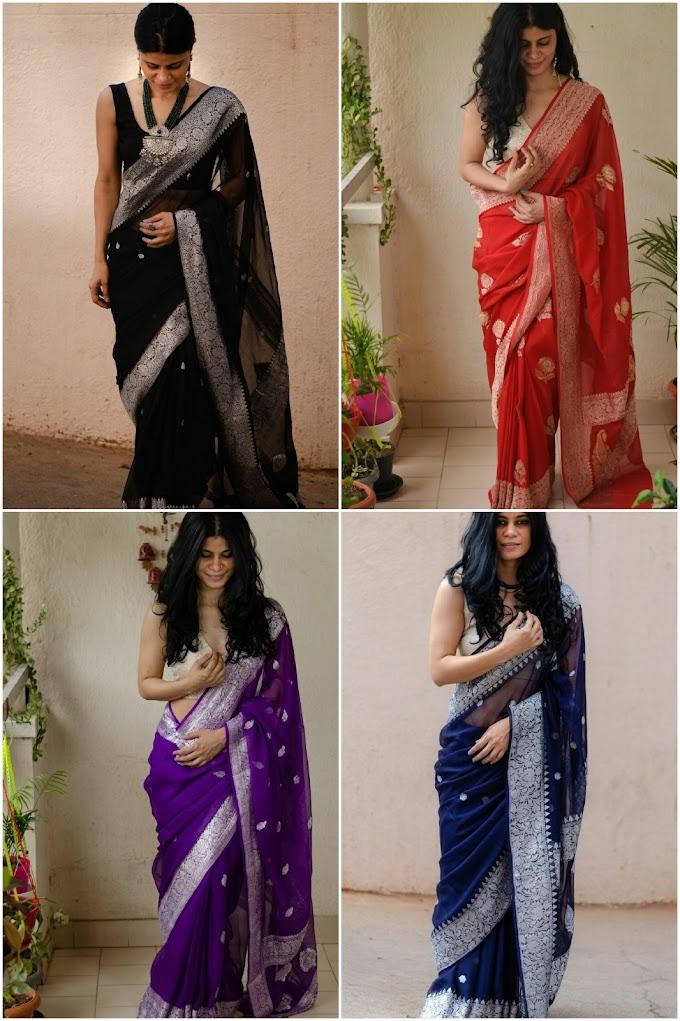 Shop The Authentic Banarasi Saris From Chakoriethnic this Wedding Season