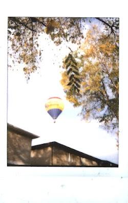 Hot Air Balloon Instax