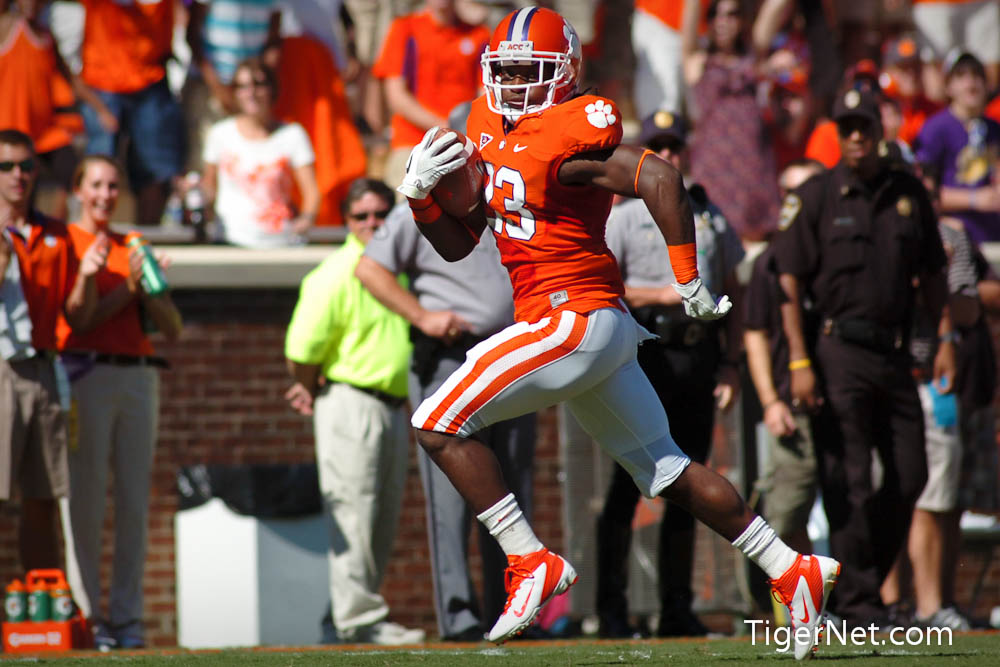 Clemson vs. Wofford Photos - 2011, Andre Ellington, Football, Wofford