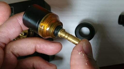 DSC 2110 thumb%25255B3%25255D - 【RDA】「Geekvape Peerless RDA」レビュー。24mm爆煙大型コイルビルド可能な高級感あふれるドリッパー!!ボトムフィード対応【ギークベープ/ビルド/電子タバコ】