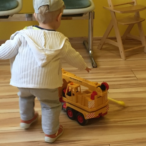 Kind beim Kinderarzt