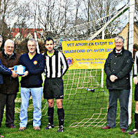 22nd March 2014, Presentati​on of a Defibrilla​tor to Bradford United FC