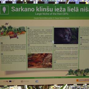 Jaunbreguli - Sarkano Cliffs & Rukamavots spring (Oct. 18)