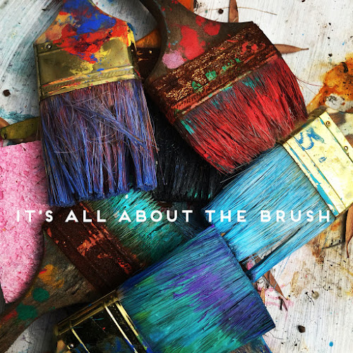 It's all about the brush