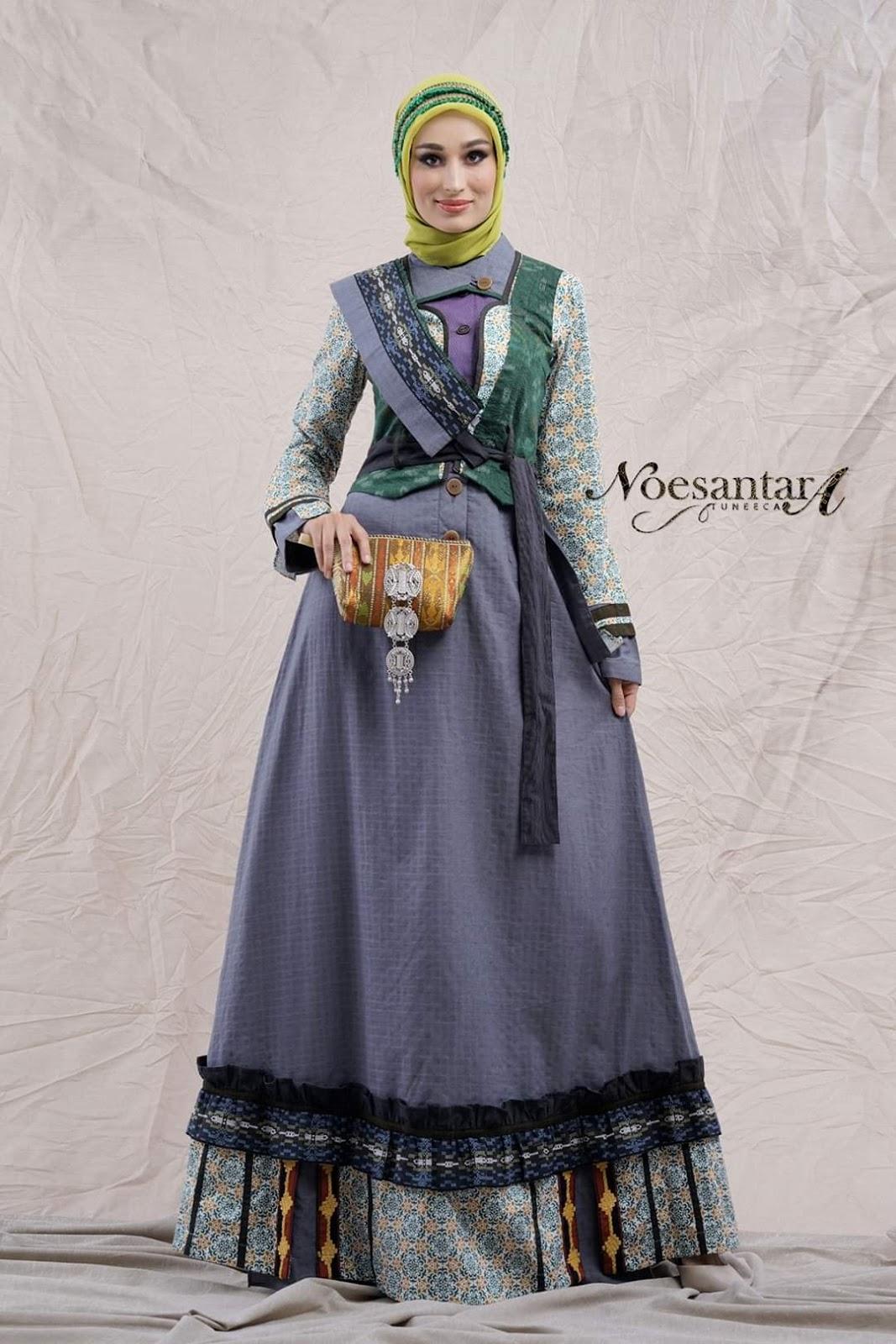 Pemakaian Tenun Yang Tidak Biasa Dalam Tuneeca Terbaru 2020 Noesantara Tuneeca Gamis Tuneeca Terbaru Dress Tuneeca Koko Tuneeca Simplylook Poeva Rhupa