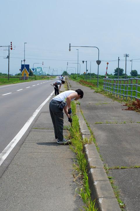 国道233号線(筑紫橋を望んで)