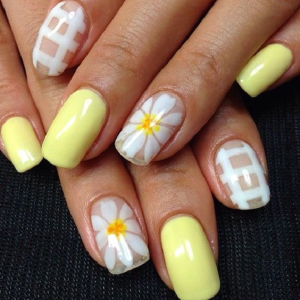 25 Amazing Yellow Nail Art Designs To Go With This Summer