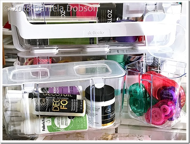 Caddy organizer adhesive 7 by Daniela Dobson