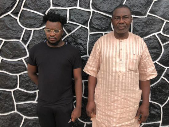 Yahoo-Yahoo: EFCC Arrests Father And Son For Internet Fraud In Lagos (Photo)