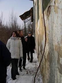 """14.1.2006 """"Toto je naše centrum. Aleluja!"""" (Aďa dokonca mala aj nejaký obraz. Žeby z tej omietky?)"""