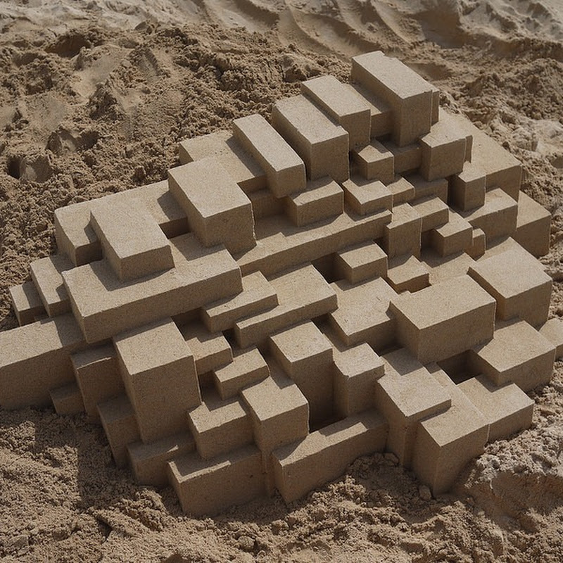 Modernist Sand Castles by Calvin Seibert