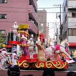asakusa samba parade in Asakusa, Tokyo, Japan