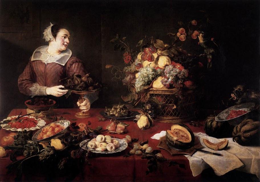 Frans Snyders - The Fruit Basket