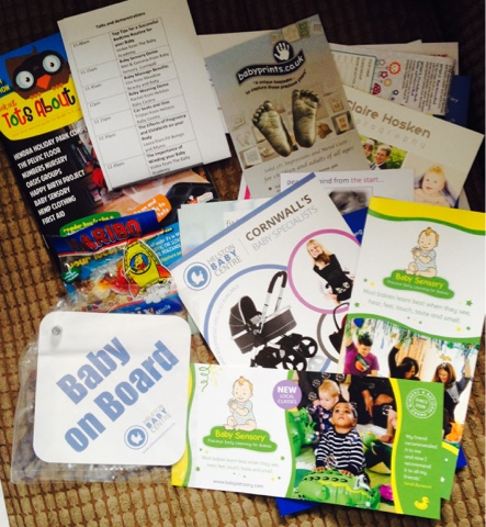 Leaflets from the Cornwall Baby Show