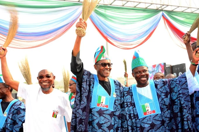 SHOCKER! Nigerians reject Buhari as he is BOOED in Ogun! [DETAILS INSIDE]