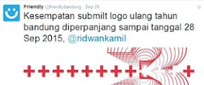 Kursus Desain Grafis Bandung - Lomba Logo Ultah Bandung ke-205