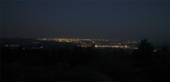 Ruta nocturna en bici para ver la lluvia de estrellas. Noche del sábado al domingo