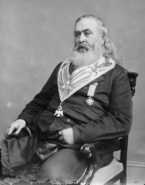 Albert Pike Brady Handy, Albert Pike