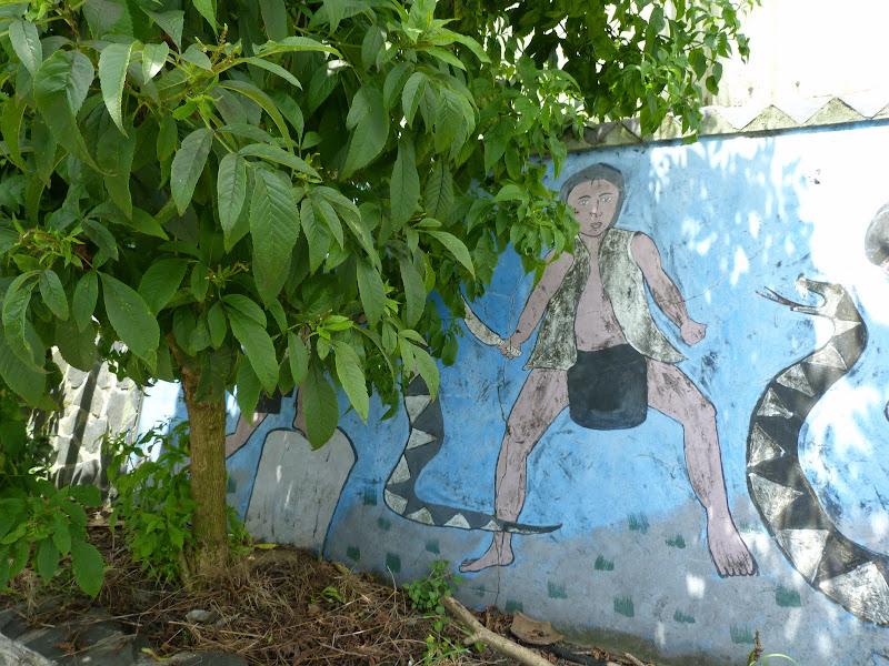Puli  en passant , entre autres, par les villages de l ethnie Bunum de Loloko et Dili. J 10 - P1160893.JPG