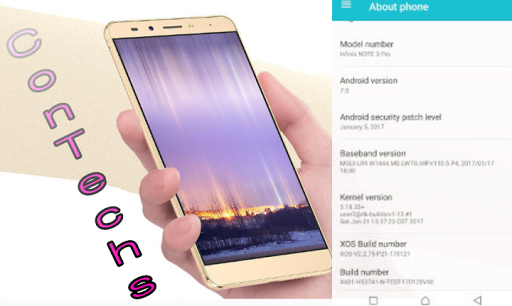 Infinix Note 3 Pro (Infinix x537) To Receive Android 7 0 Nougat