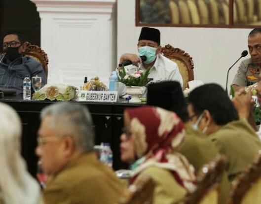 Lima Warga Banten Positif Corona, Seorang Meninggal