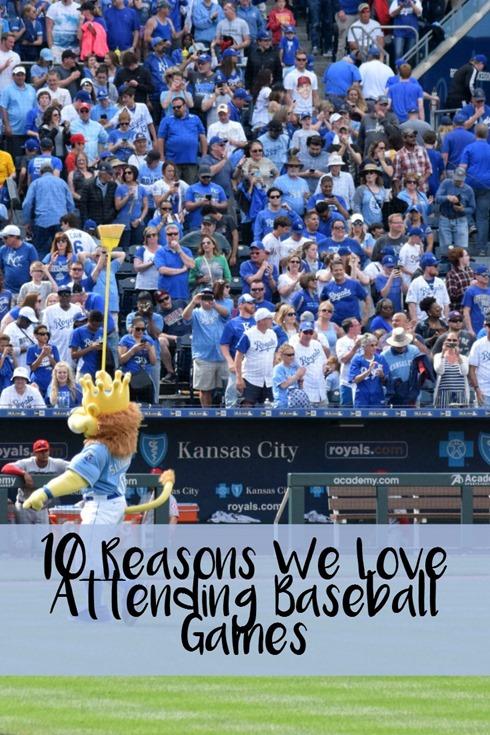10 Reasons We Love Attending Baseball Games