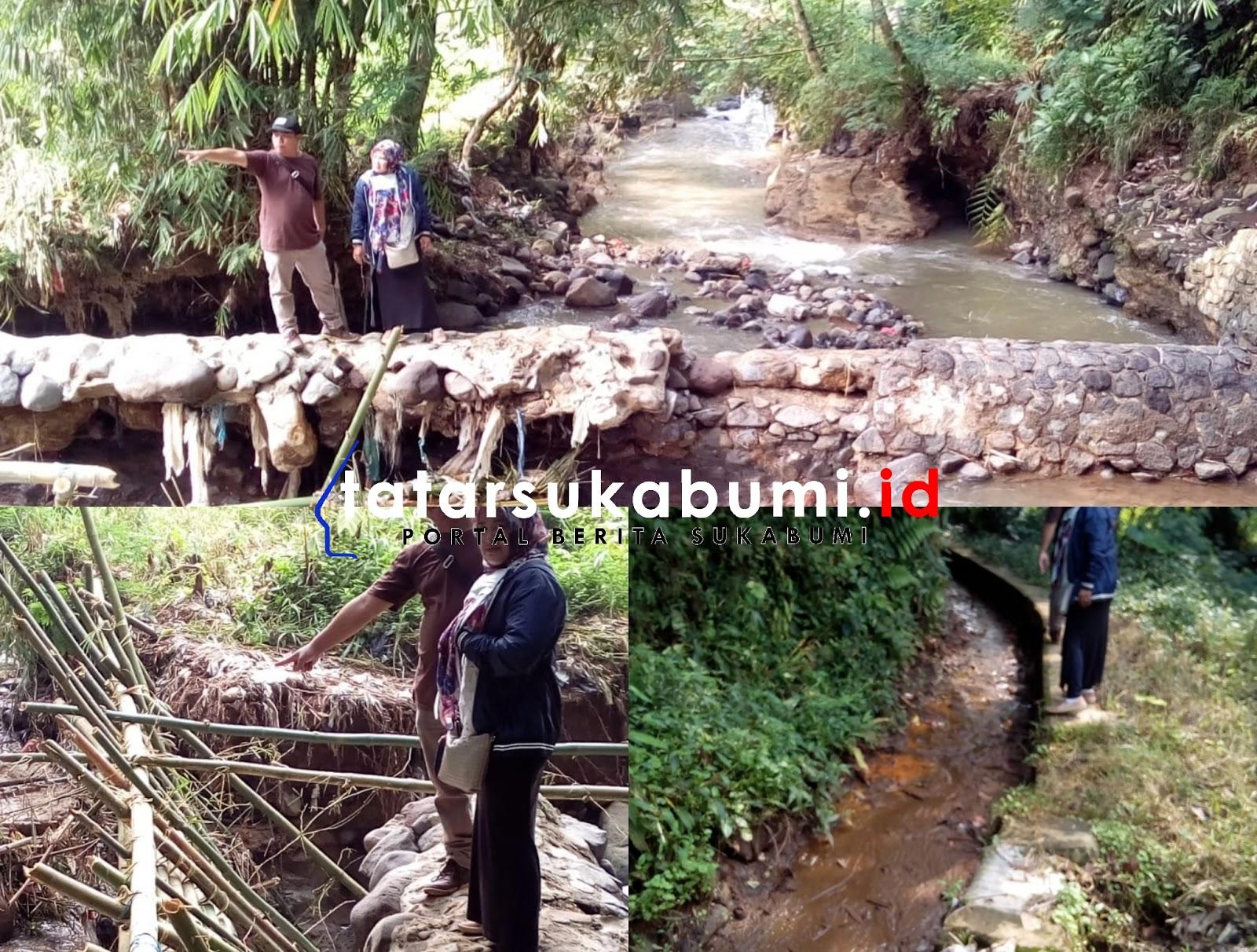 Bendungan Jebol, 38 Hektare Lahan di Sukabumi Terancam Kekeringan