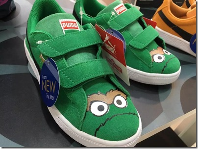 Puma X Sesame Street: Oscar the Grouch