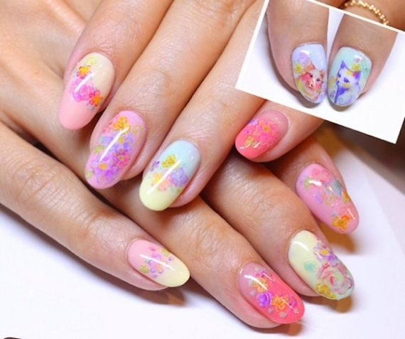 Best Of Pretty Acrylic Nails Designs For Summer 2017