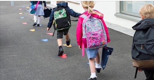 P1 Children Start School