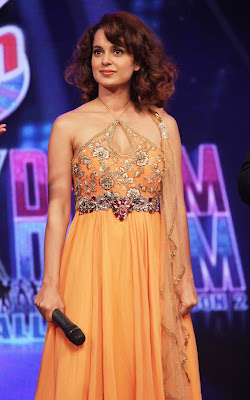 Kangna Ranaut & Madhavan at Chakk Dhoom Dhoom for Promotion of Tanu Weds Manu