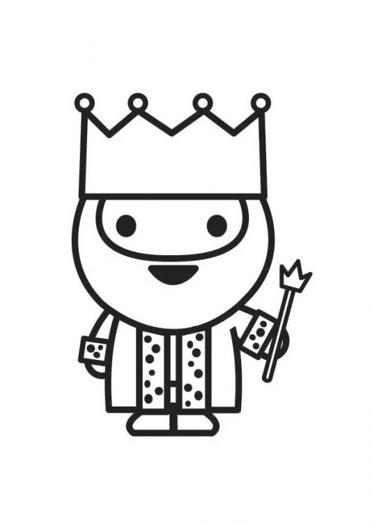 mini king coloring pages