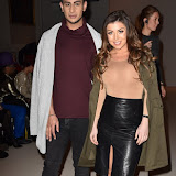 OIC - ENTSIMAGES.COM - Junaid Ahmed and Abi Clarke at the  LFW: a/w 2016: Prophetic - catwalk show  in London 20th February 2016 Photo Mobis Photos/OIC 0203 174 1069