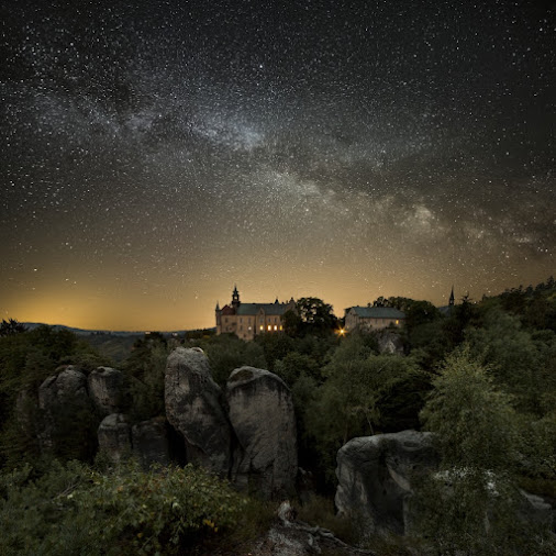 Night Symphony in Czech paradise...  www.milisphoto.eu  #hqspnight +HQSP Night #landscapephotography...