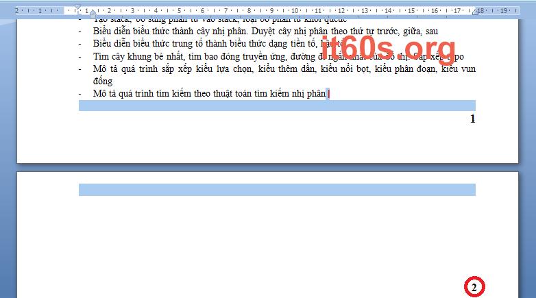Thủ thuật xóa các trang trắng trong Word nhanh nhất 1