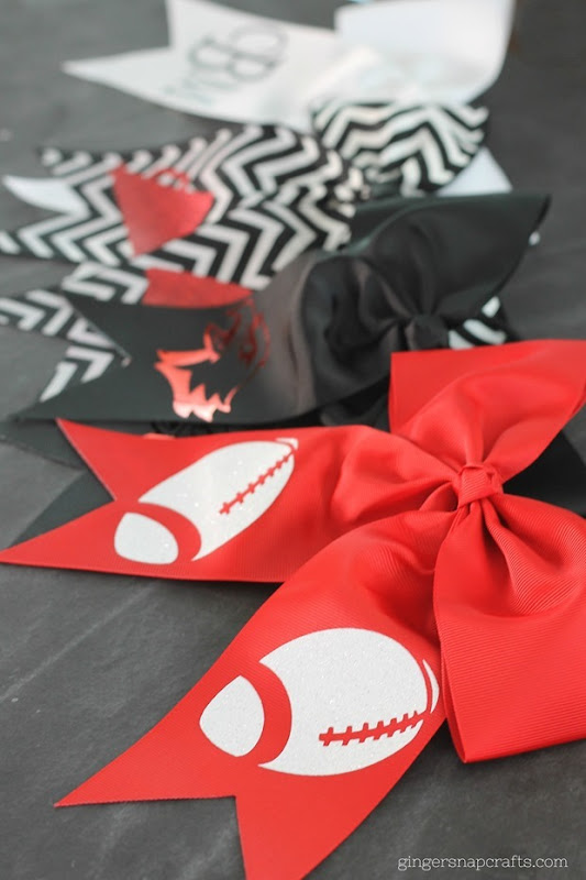 cheer bows #cheer #bows #cricut