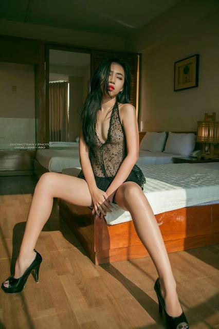 Girl sexy thoáng như làn gió photo Sương Trần