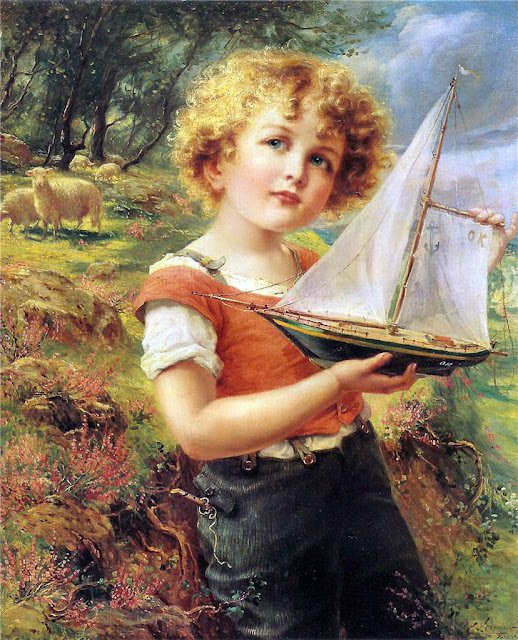 Emile Vernon - The toy boat