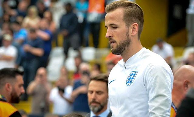 Harry Kane, the England captain photo